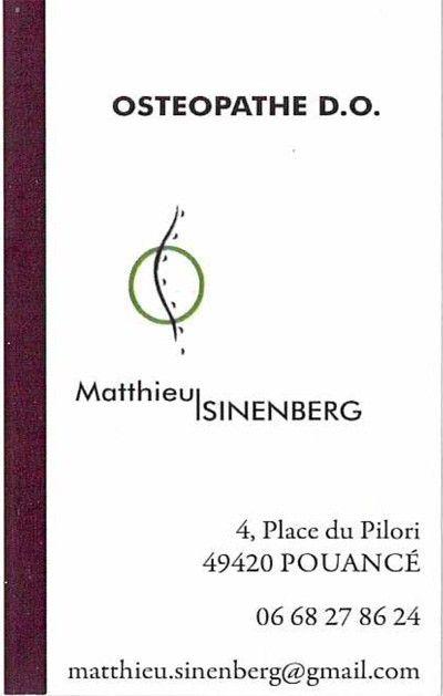 Carte Matthieu SINENBERG