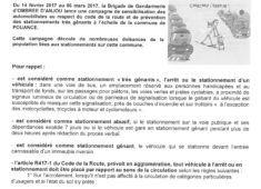 Campagne Gendarmerie
