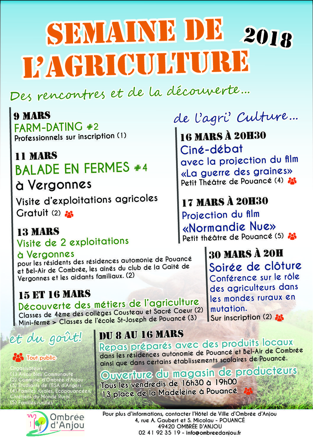 Affiche semaine agriculture 2018 V3