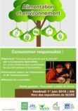 Affiche spectacle consommer responsable