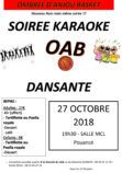 affiche karaoké 2018